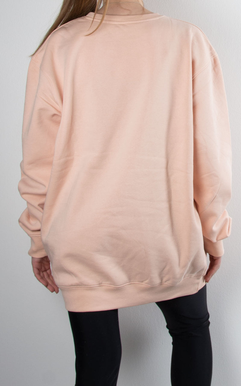 Oversized Sweater | Blush Pink