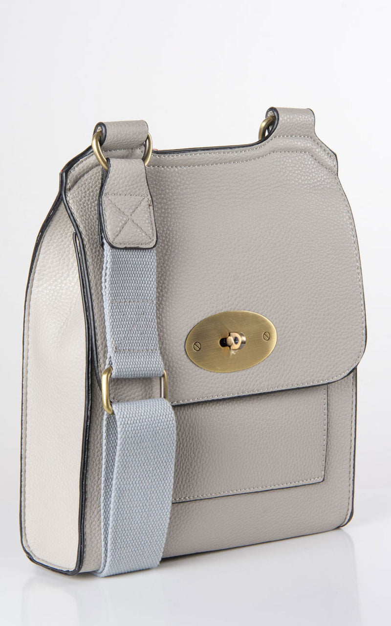 Messenger Bag | Pale Grey