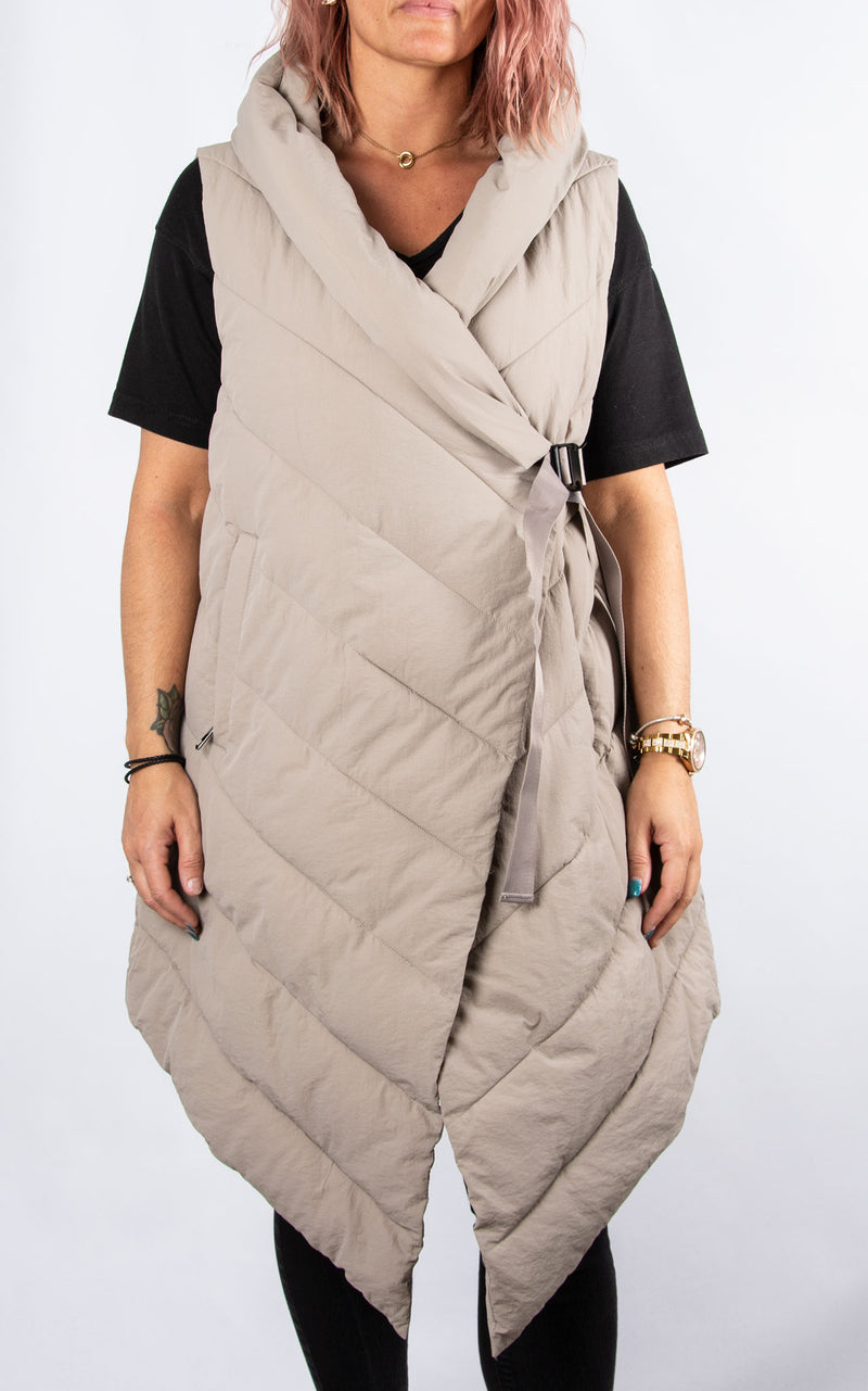 Padded Gillet | Stone
