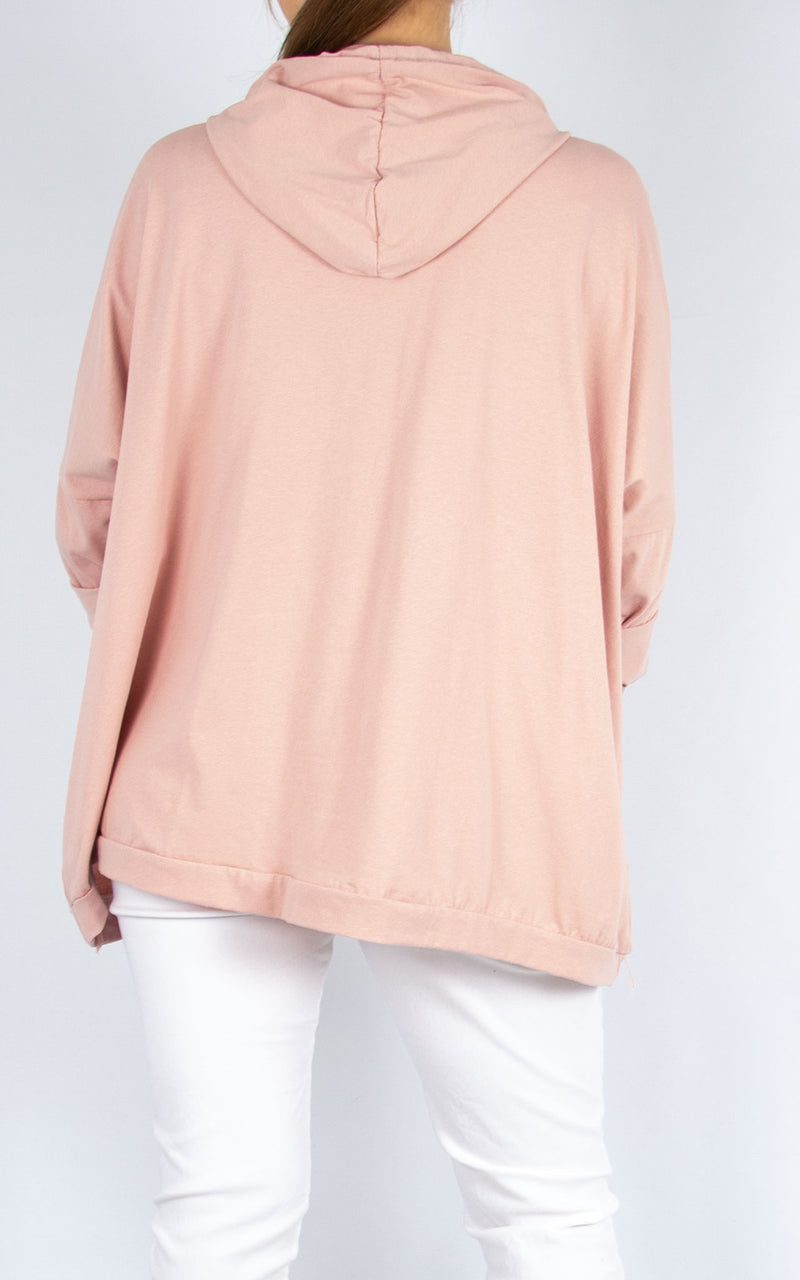 Top: Perfect Hoodie | Pink