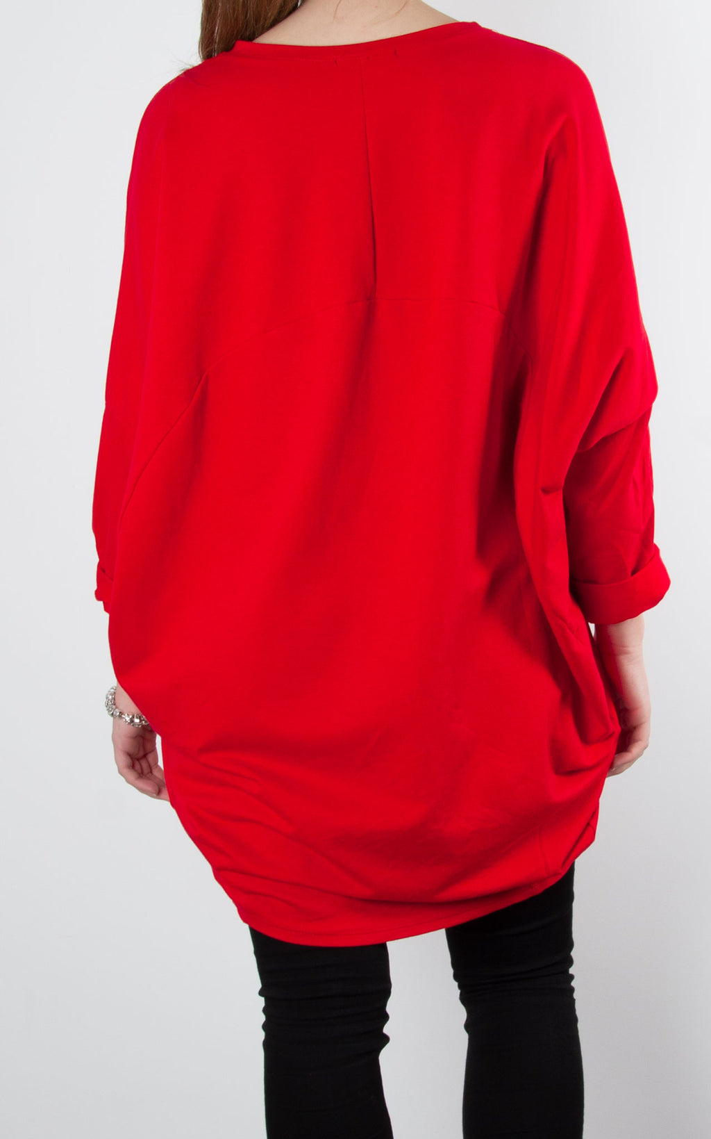 Print Face Sweat | Red