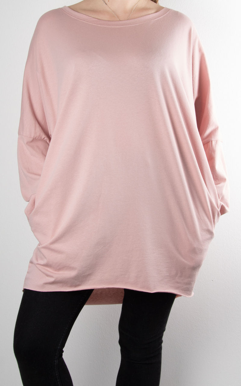 Rachel T Long Sleeve | Pink
