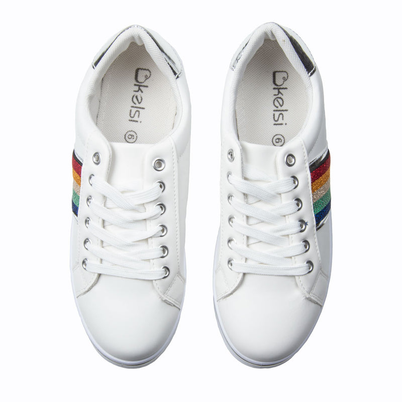Shoes: Rainbow Trainer