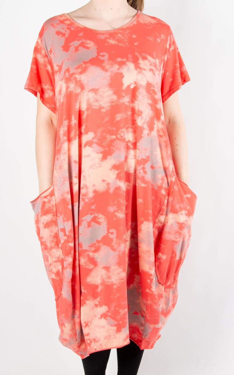Roo Dress | Coral