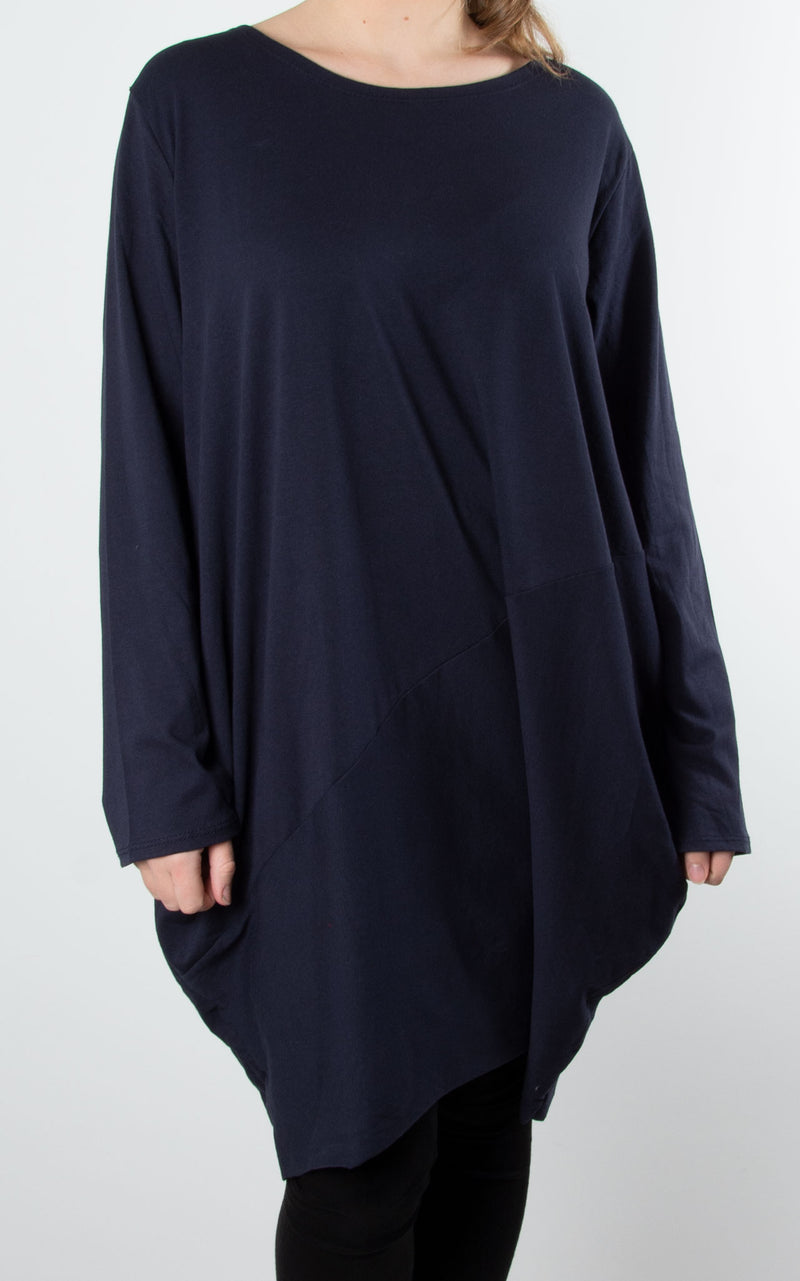 Ruby Long Sleeve | Navy