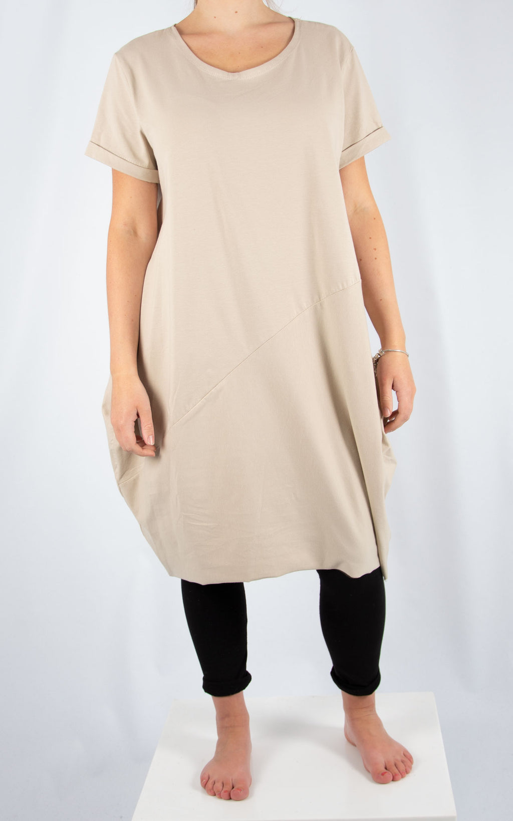 Beige Ruby Tunic