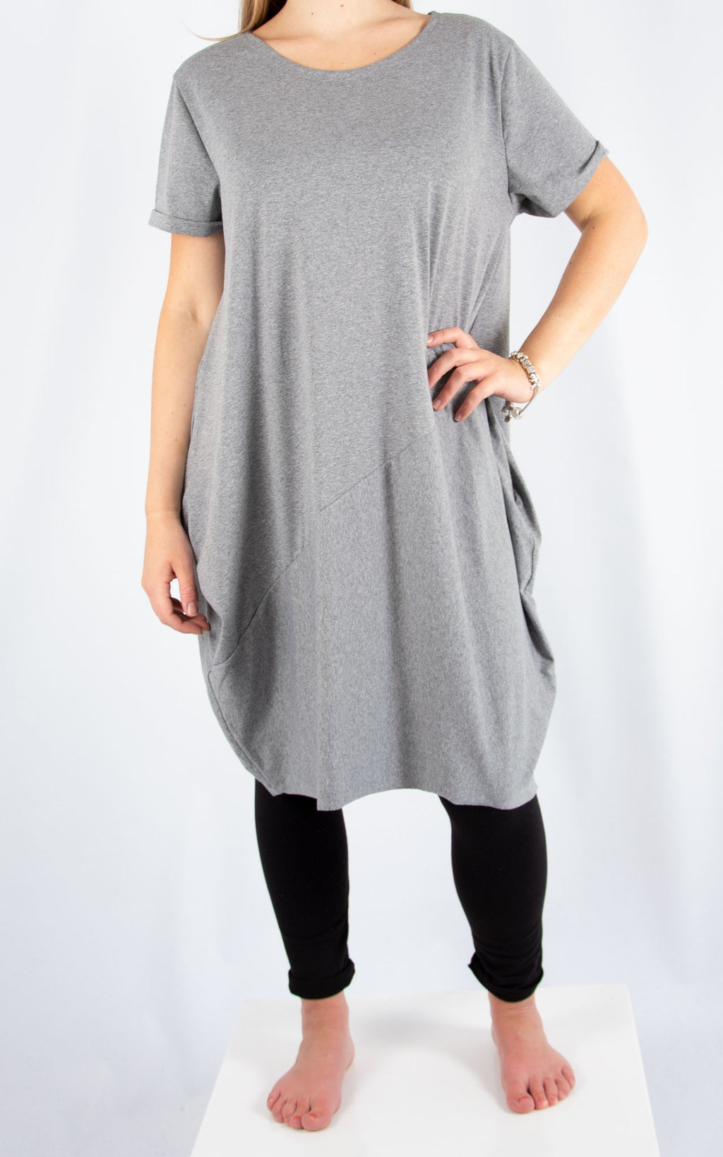 Slate Grey Ruby Tunic