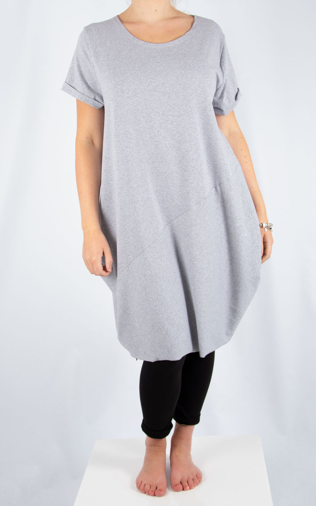 Grey Ruby Tunic