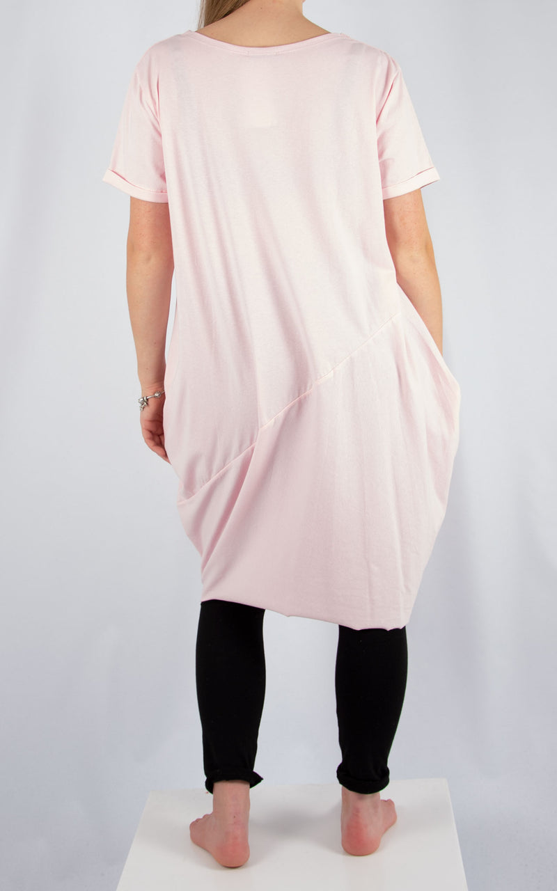 Pale Pink Ruby Tunic