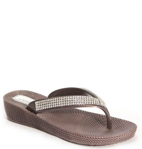 Ella Flip Flop | Brown