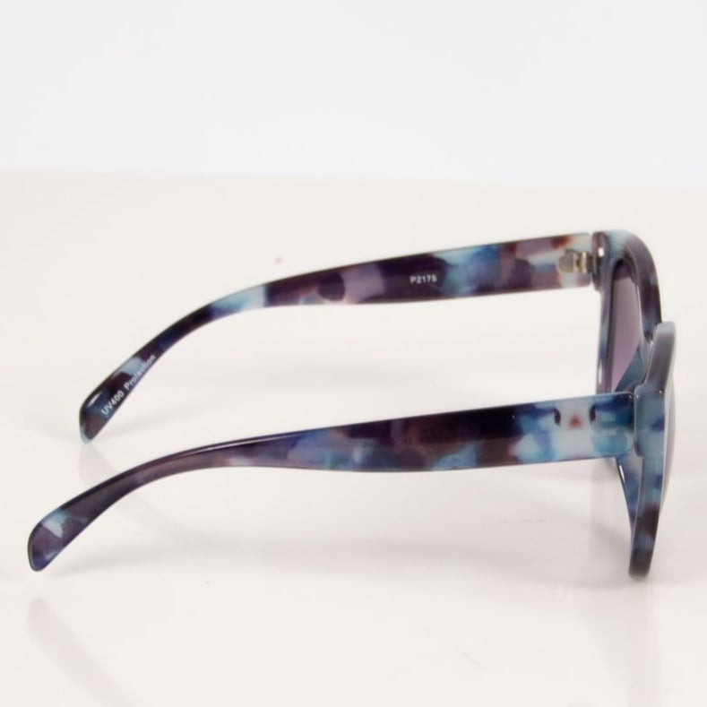 Purple Tortoiseshell Sunglasses