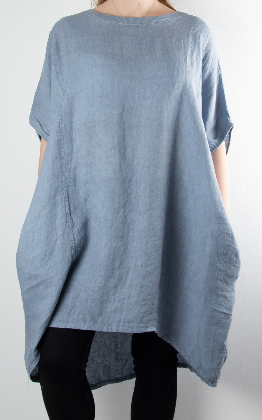 Saint Wing Back | Denim Blue