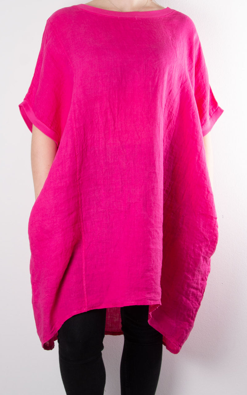 Saint Wing Back | Hot Pink