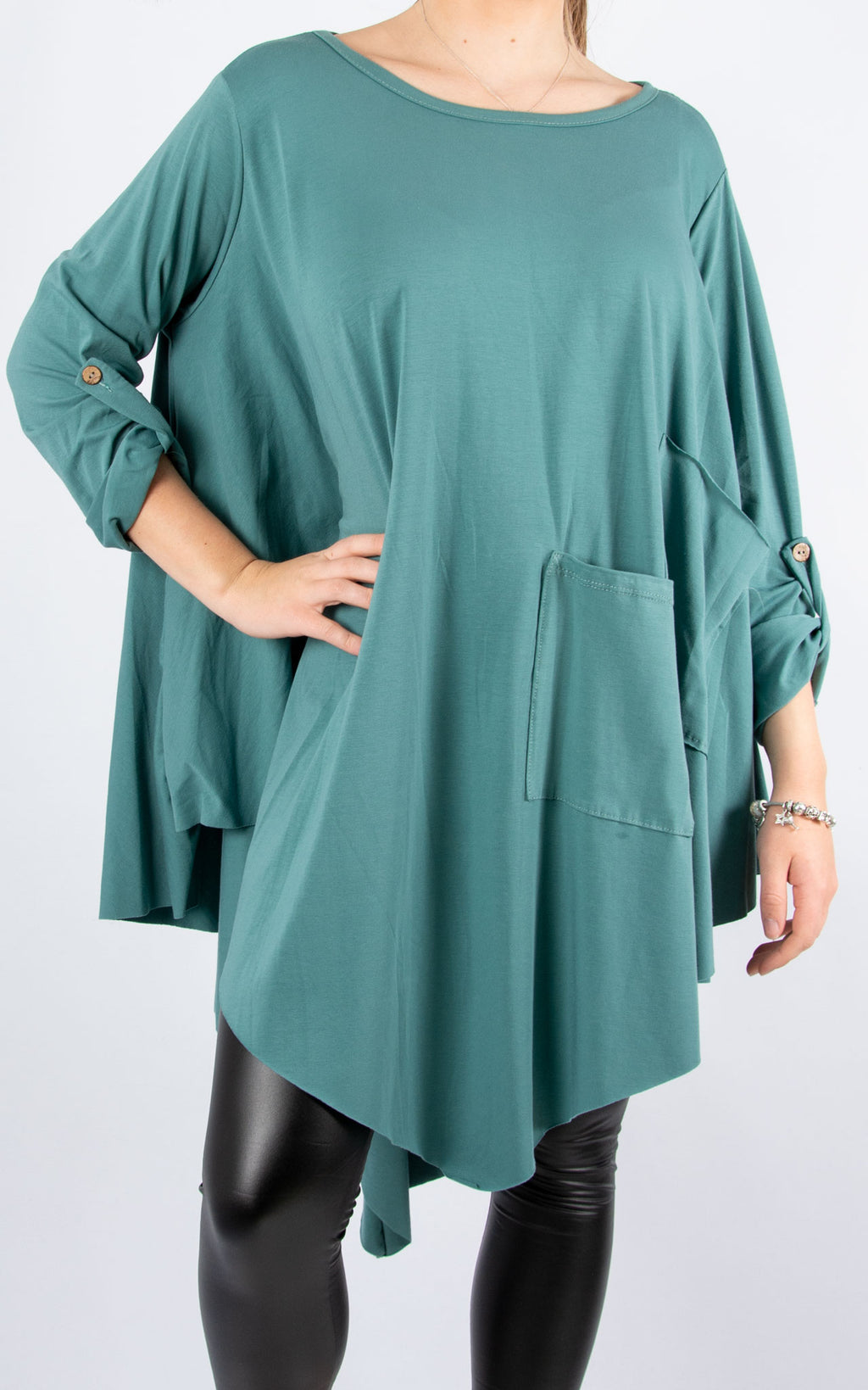 Sarah T | Long Sleeve | Sea Green