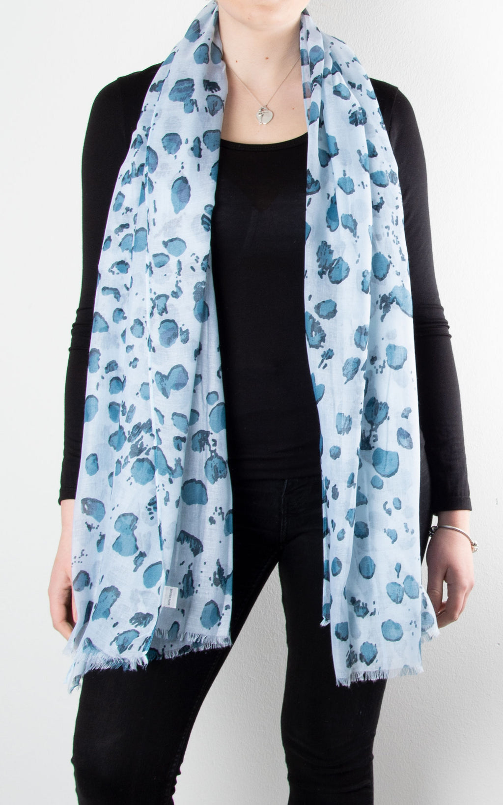 Scarf | Blotch | Blue