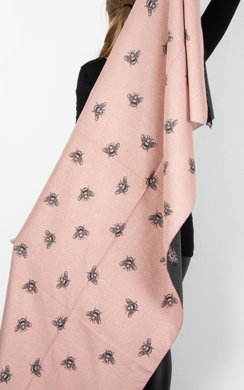 Scarf | Pink Bee
