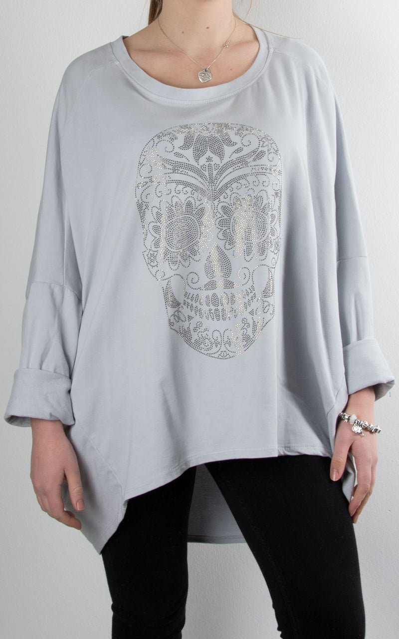 Skull Sweat | Light Grey