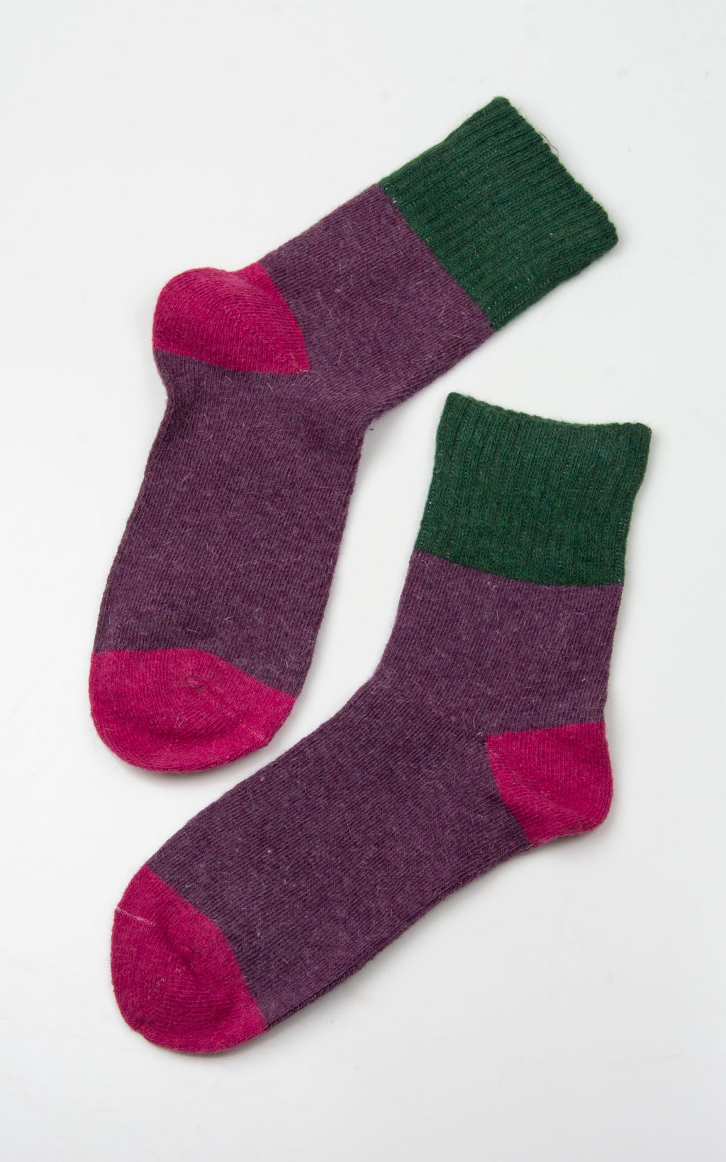 Socks:Franni|Purple\Green