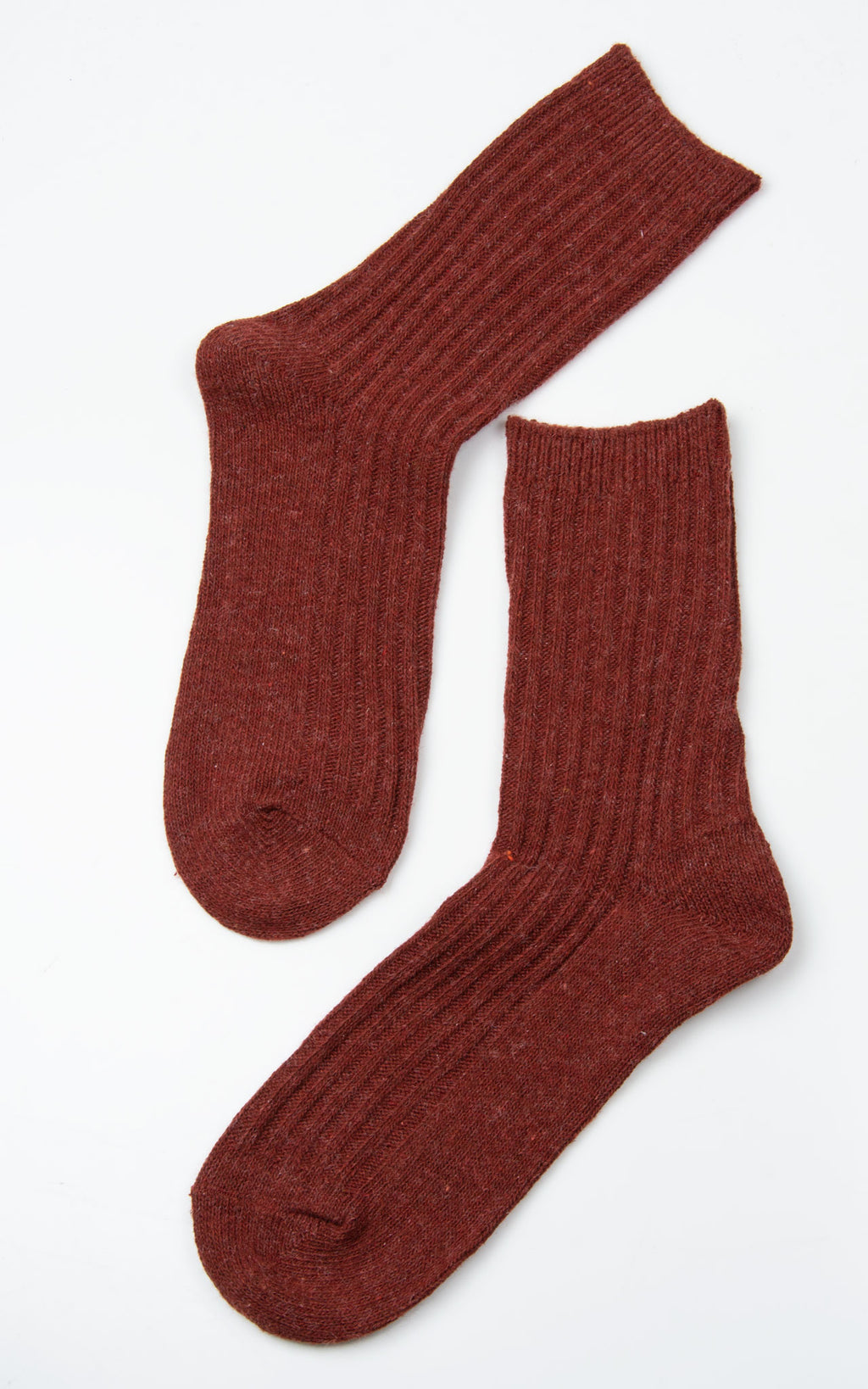 Socks: Multi Mix Woolly| Rust