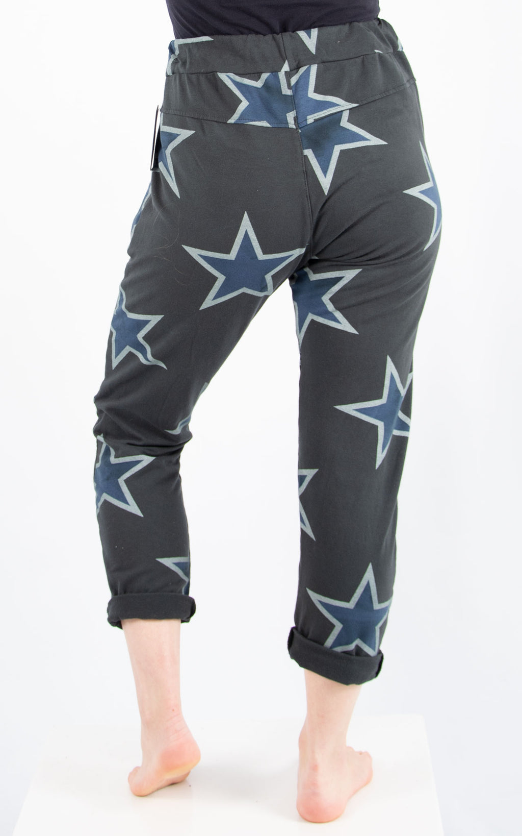 Charcoal Sweat Star Jogger