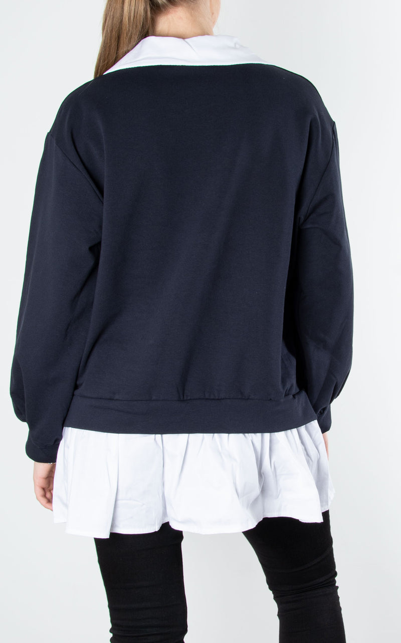 Sweat Shirt Combo| Navy