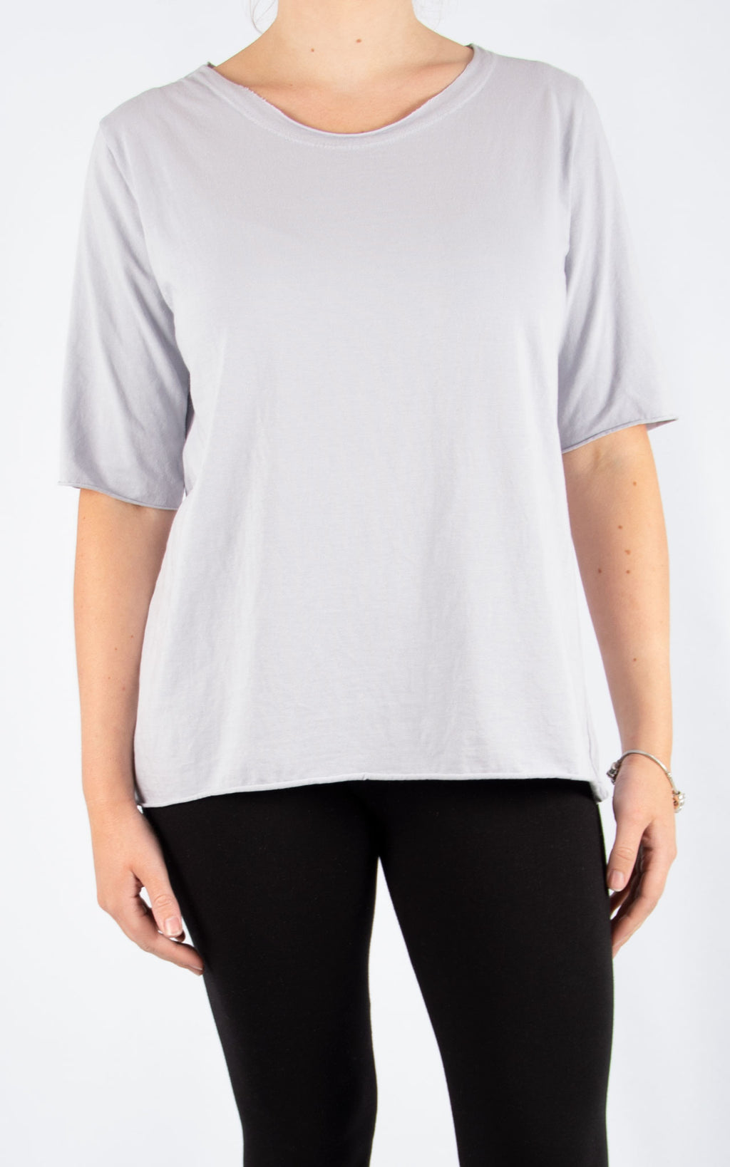 Light Grey Tanya Basic T