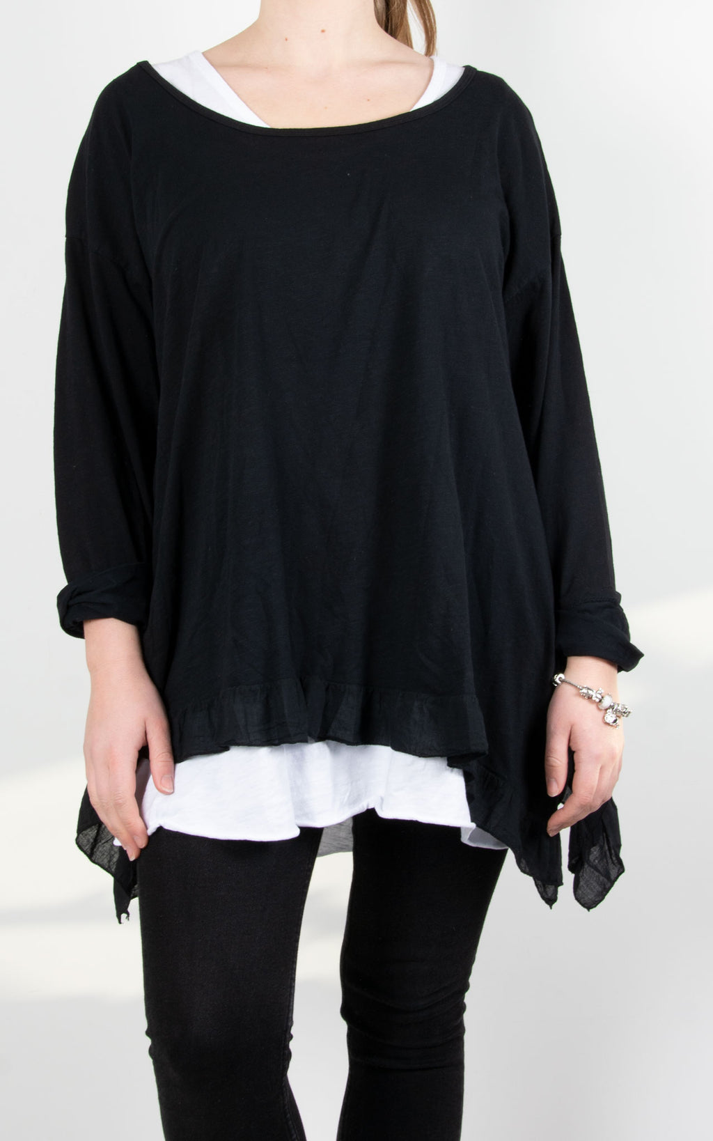 Tammy Double Layer | Black