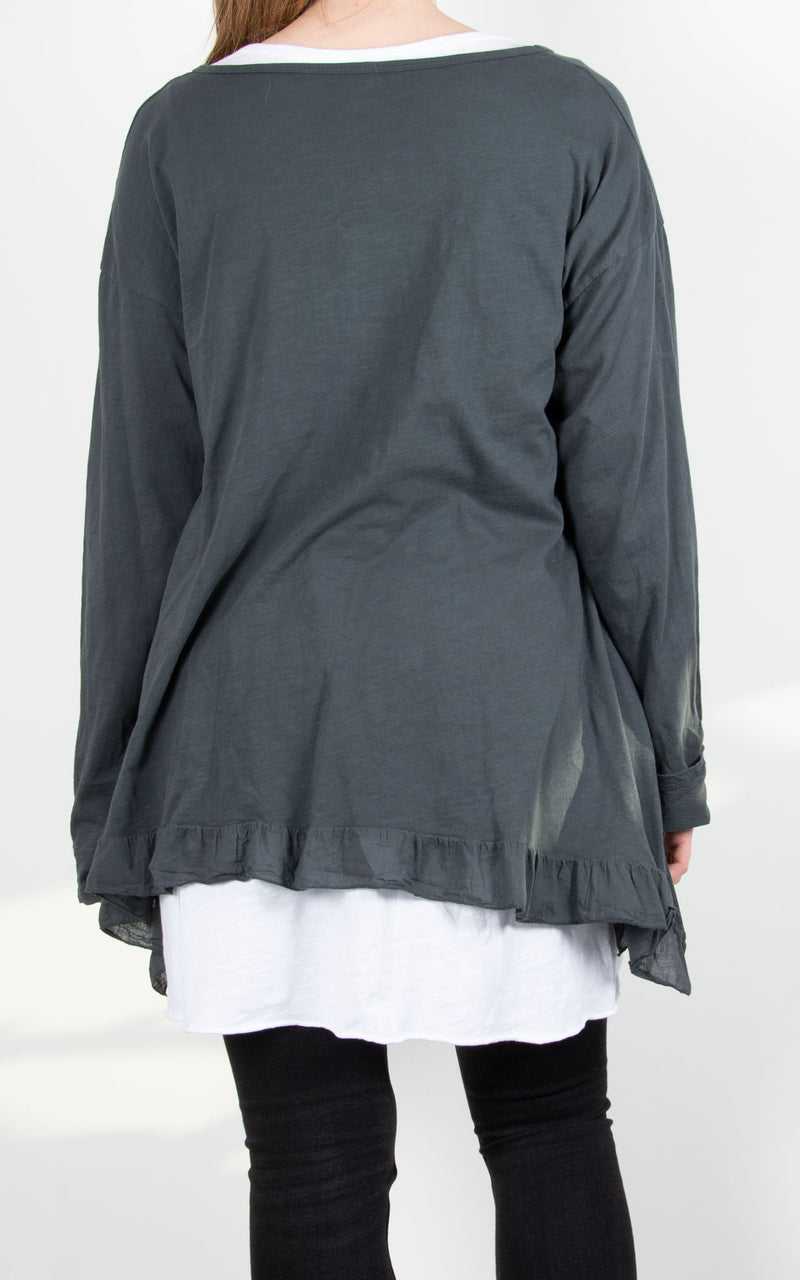 Tammy Double Layer | Charcoal