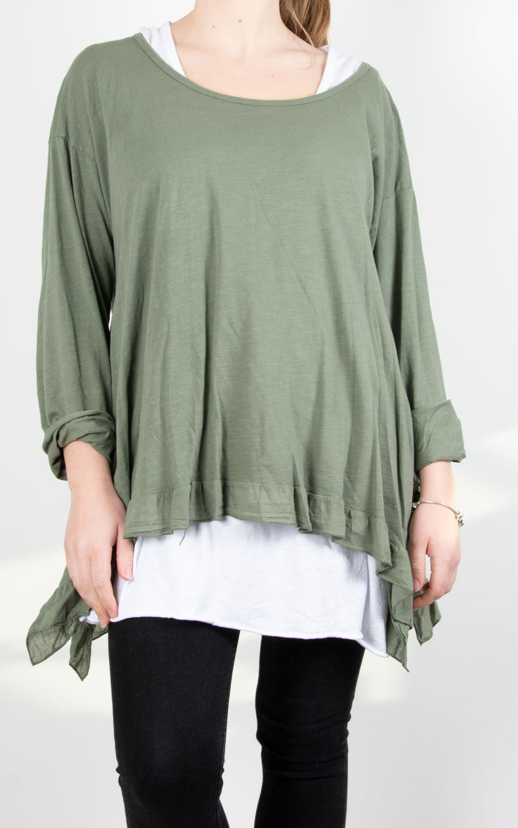 Tammy Double Layer | Khaki