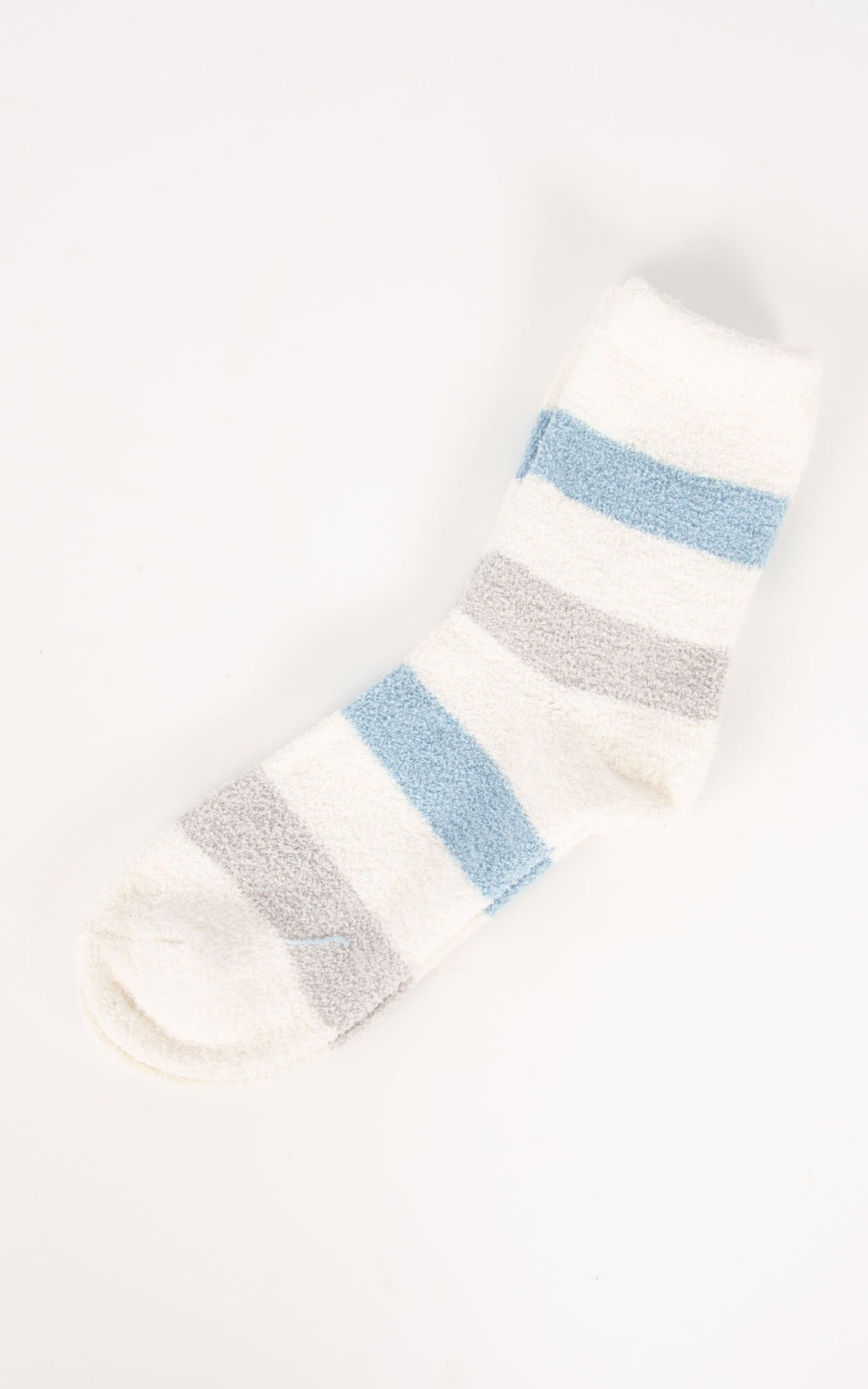 Socks Thick Stripe | Blue