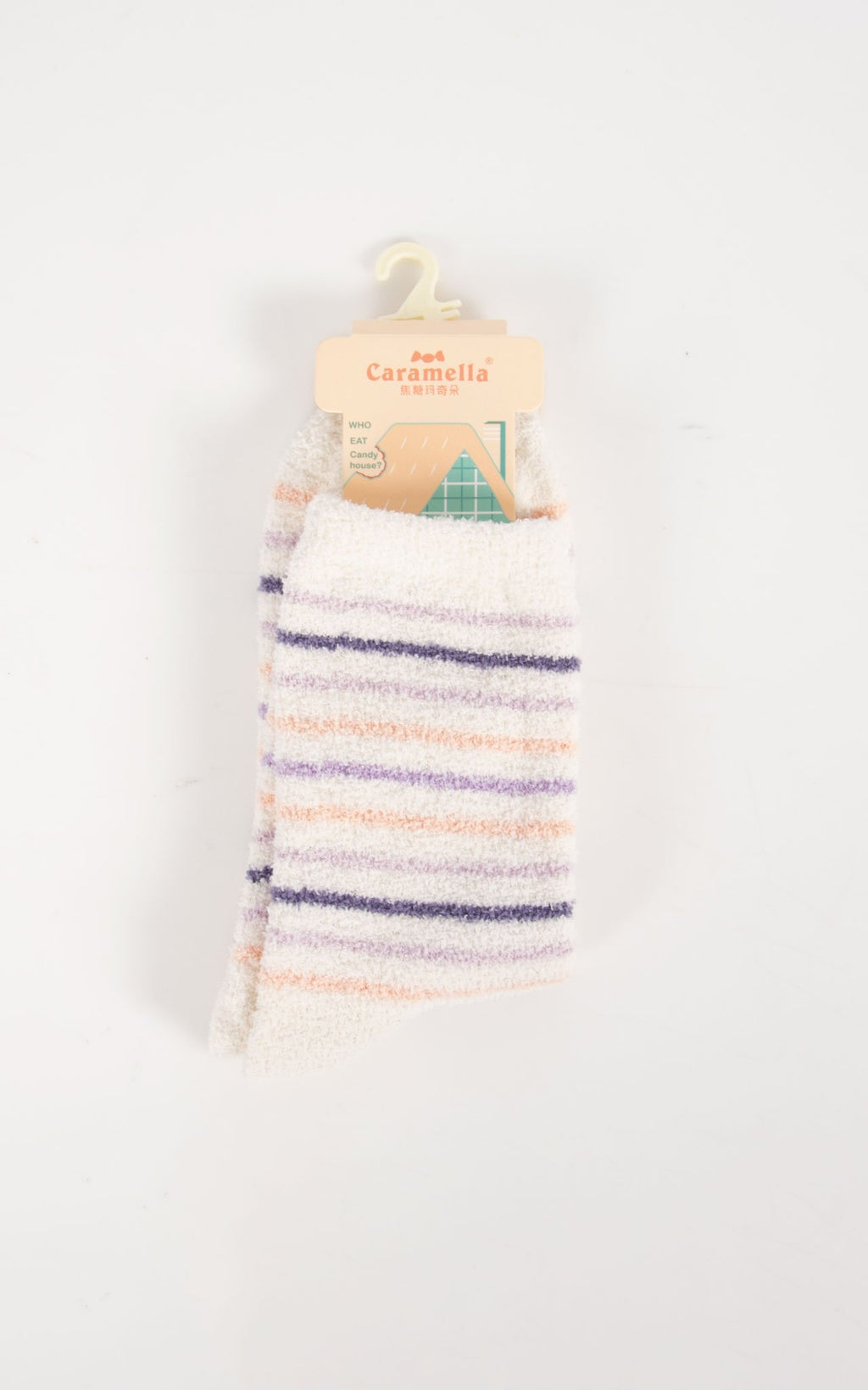Socks Thin Stripe | Purple