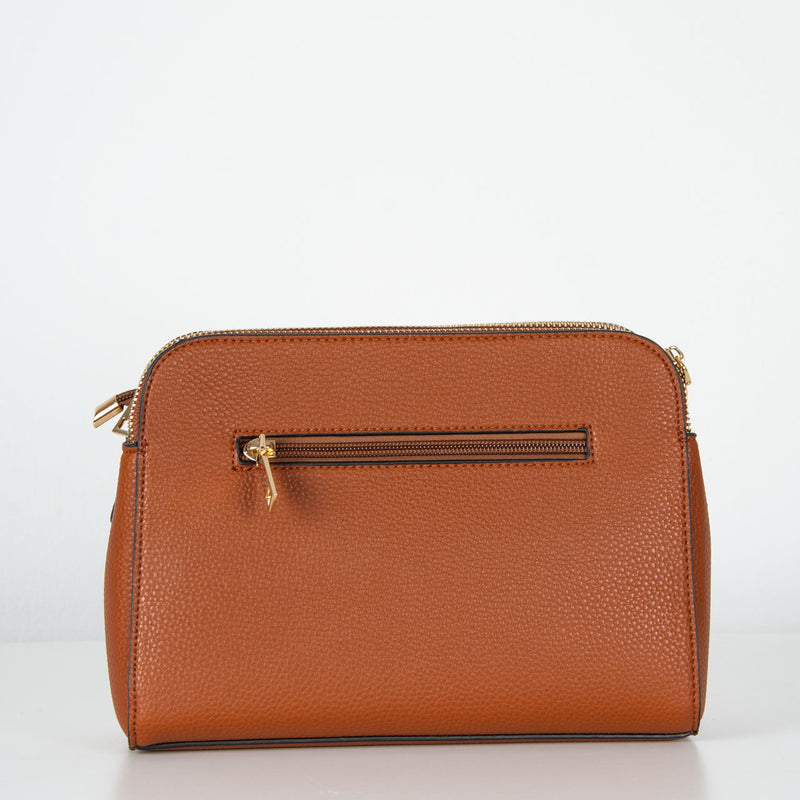 Toni | Double Zip | Brown