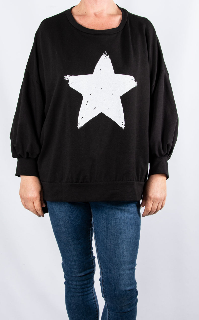 Star Bell Sleeve | Black