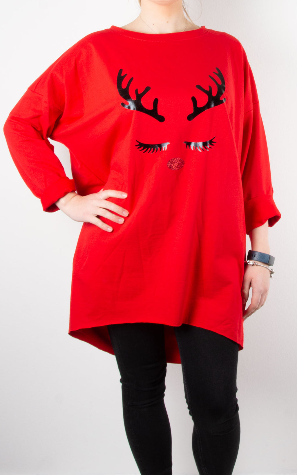 Trixie Top | Eyelashes | Red