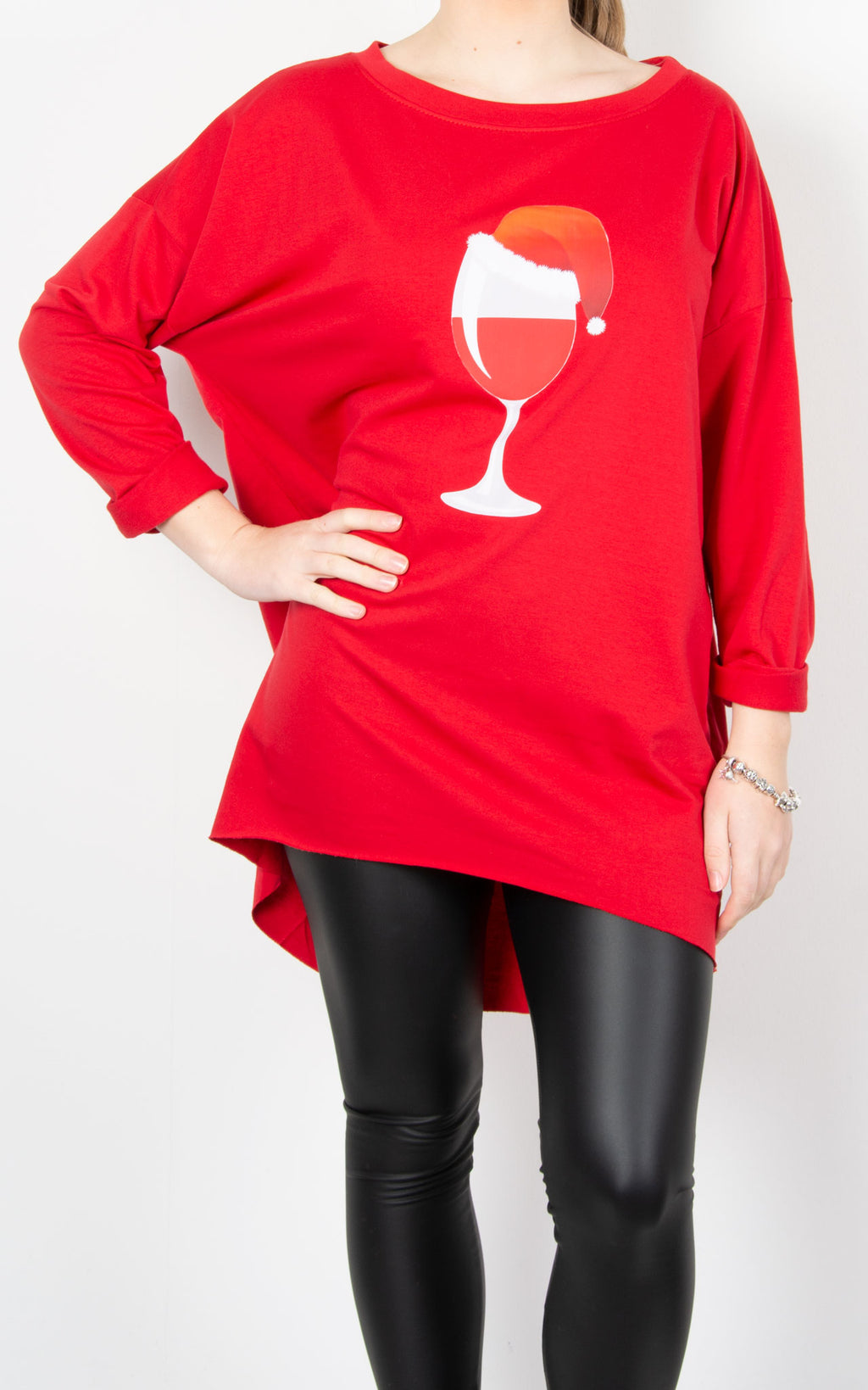 Trixie Top | Santa's Wine | Red