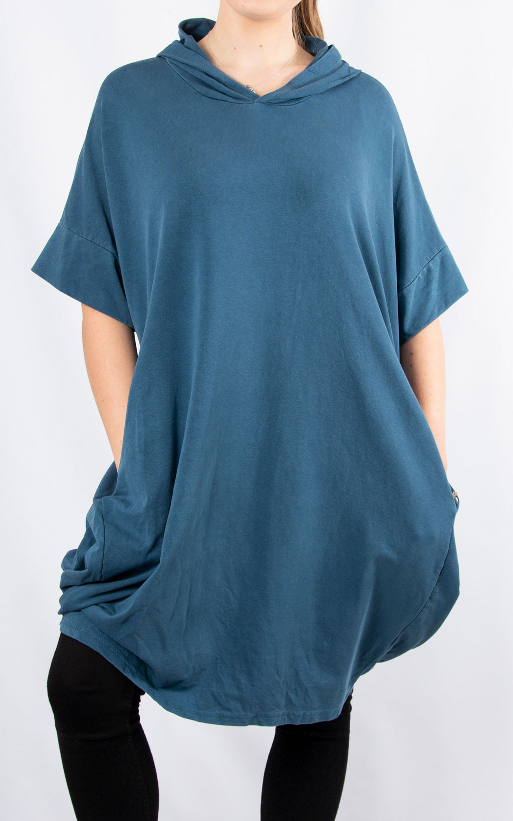 Val Oversized Sweat | Teal
