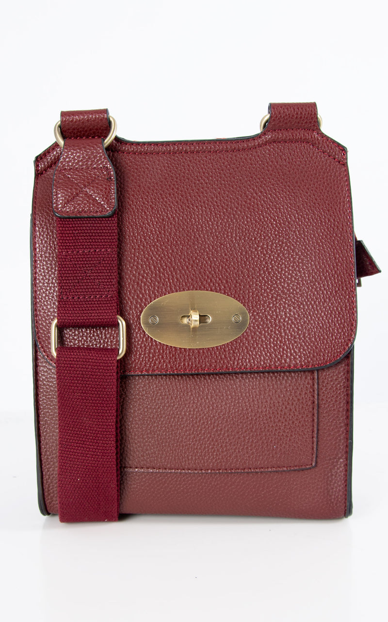 Messenger Bag | Wine