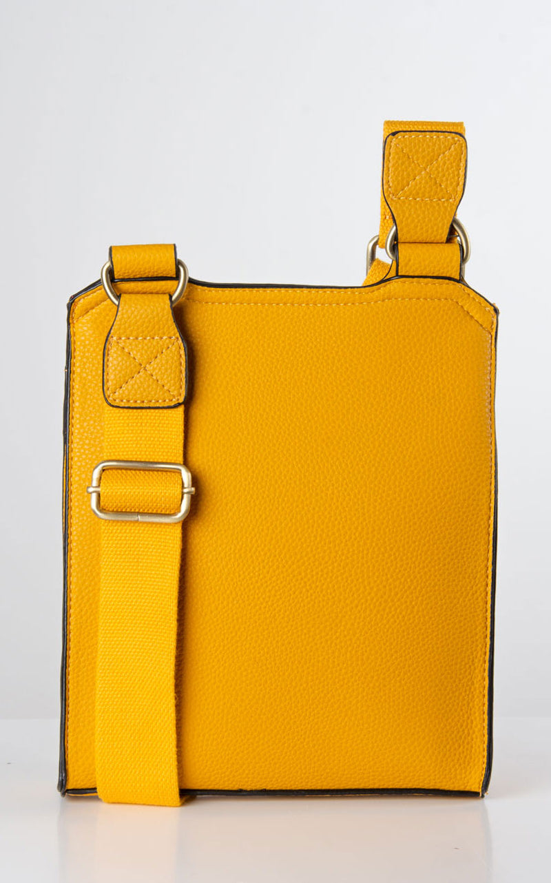 Messenger Bag | Yellow