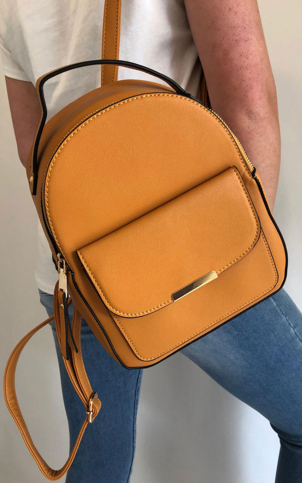 Yellow | Bella Backpack