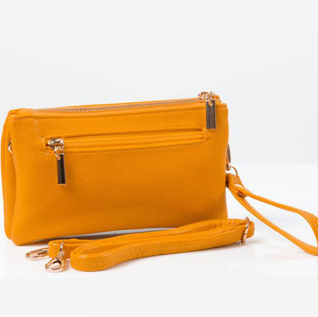Clutch Bag | Toni | Yellow