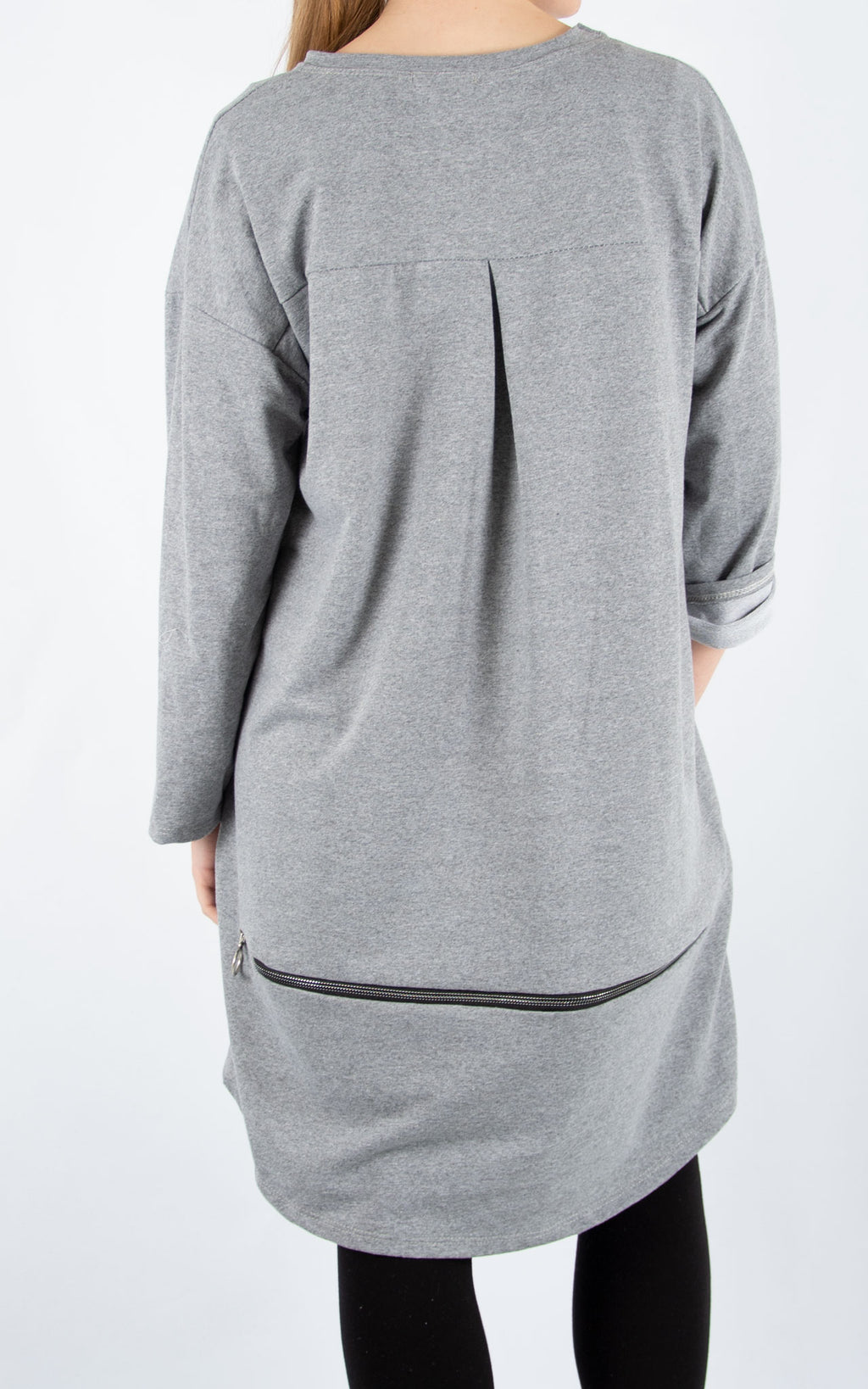 Grey Zippy Sweatshirt