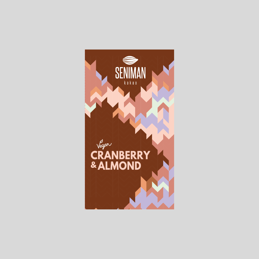 72% Cacao with Cranberry & Almond