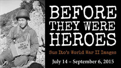 Before They Were Heroes: Sus Ito's World War II Images