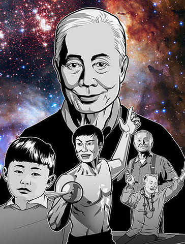 Exhibition-Related Products New Frontiers: The Many Worlds of George Takei