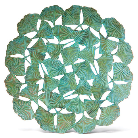 Ginkgo Leaf Cut-Out Plate