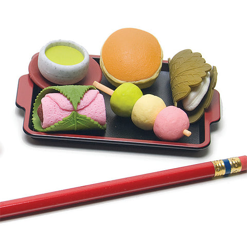 Mochigashi Eraser Set
