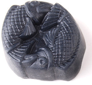 Bamboo Charcoal Soap: Two Carp
