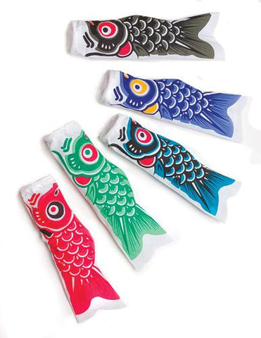School of Mini Koinobori