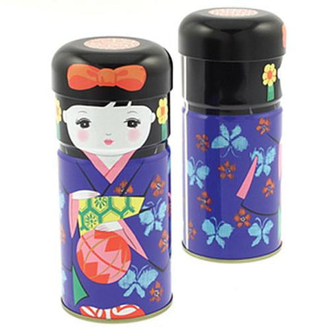 Kokeshi Tea Can