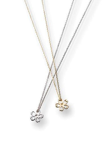 18K Gold-Plated Sakura Charm Necklace